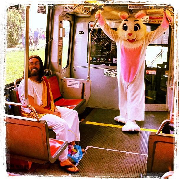 Top Ten Reasons Jesus is Jealous of the Easter BunnyJesus Easter Bunny