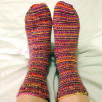 technicolored dream socks